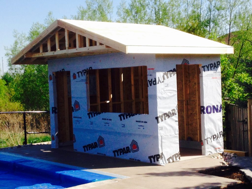 Pool House Insulation