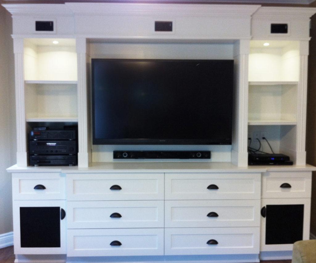 Custom Built in TV unit